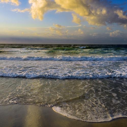 destinflorida florida beach waves gulfofmexico clouds horizon nature water gulfcoast sand