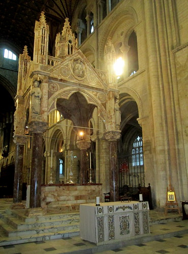 Stone altar,Peterborough Cathedral