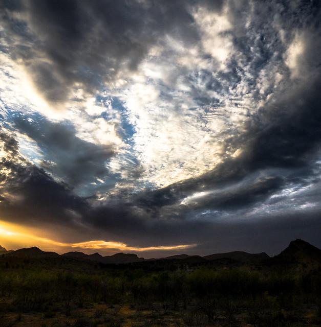A Flinders Ranges Sunset (Redux)