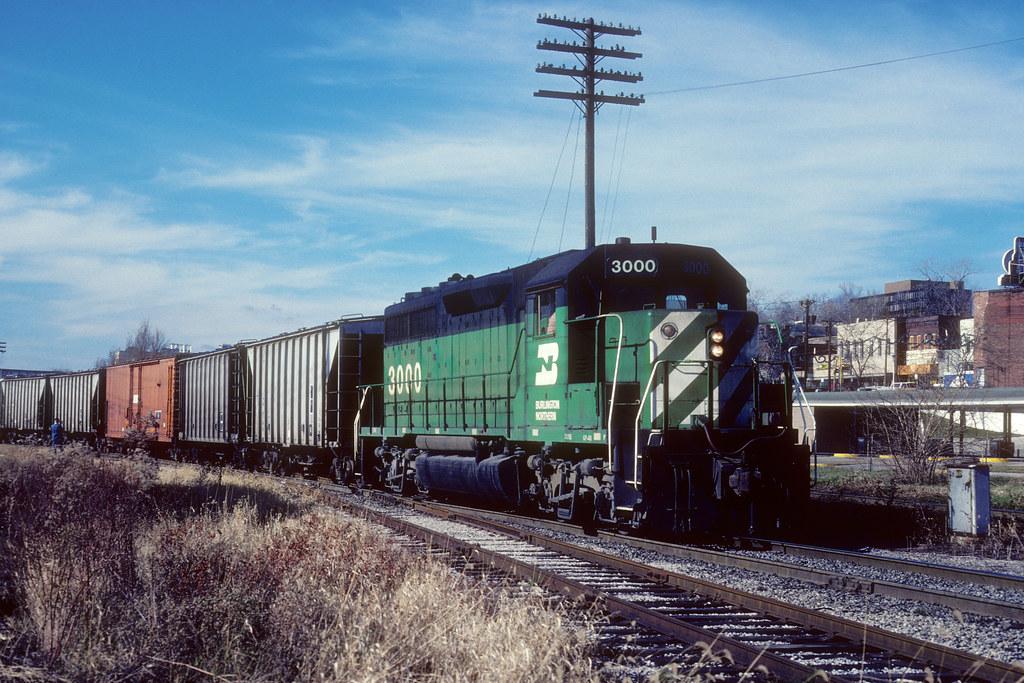 Burlington Northern #3000 by Jim Strain