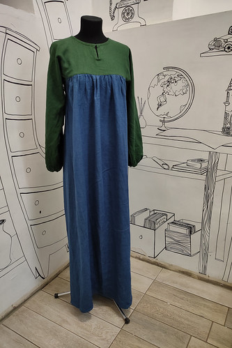 Женский карнавальный костюм Средневековое платье