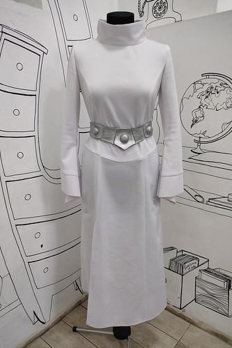 Женский карнавальный костюм Платье Леи