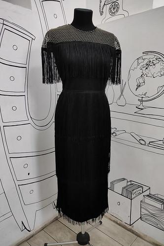 Женский карнавальный костюм Платье с бахромой в стиле Гетсби