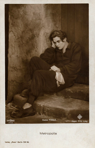 Gustav Fröhlich in Metropolis (1927)