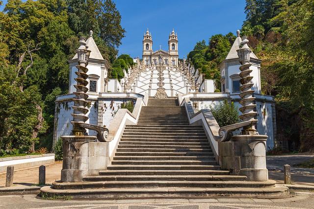 Santuario de Bom Jesus do Monte (Norte de Portugal)