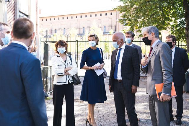 Ouverture des États généraux du numérique pour l'éducation dans l'académie de Toulouse, 30 sept. 2020, Lycée Saint-Sernin
