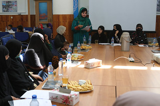 Women in eastern Nangahar discuss their role and participation in peace. | by UN Assistance Mission in Afghanistan