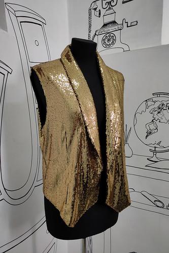 карнавальный костюм Золотой жилет