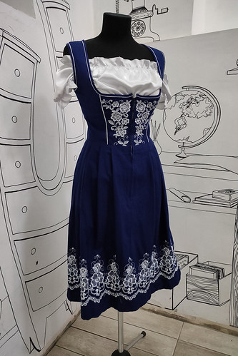 Женский карнавальный костюм Баварское платье