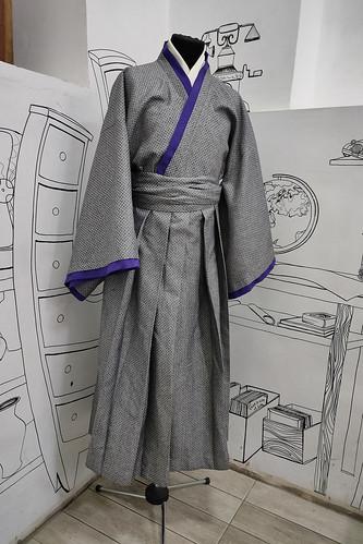 Мужской карнавальный костюм Кимоно