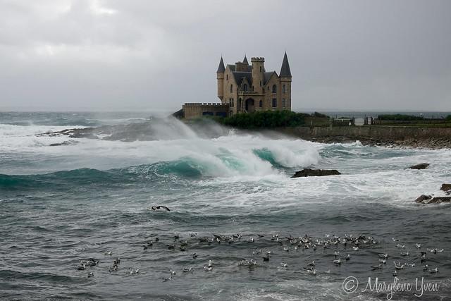 tempête Alex à Quiberon