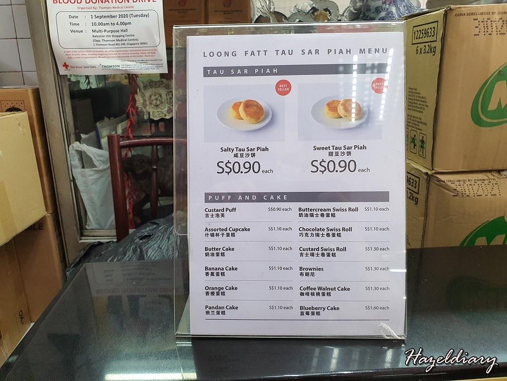 Loong Fatt Tau Sar Piah-Balestier Road-pricing