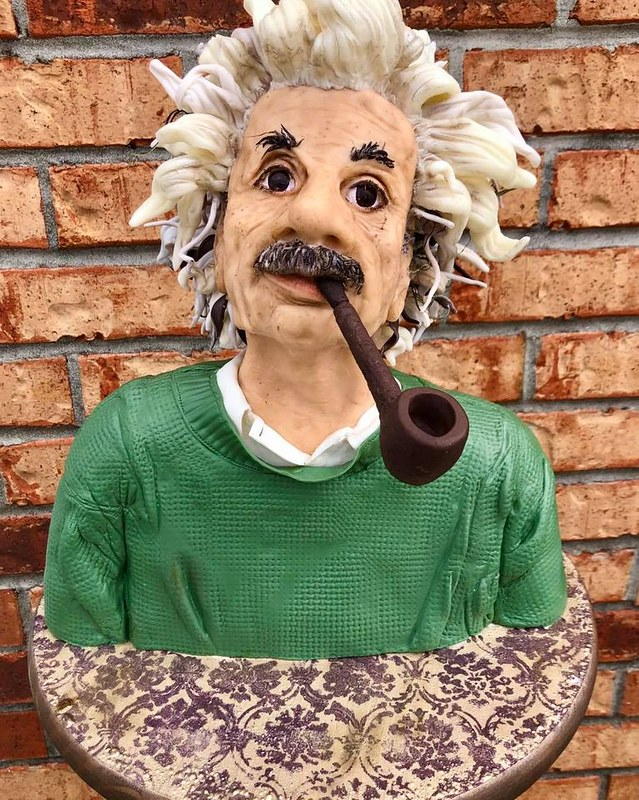 Einstein Cake by The People's Bakery