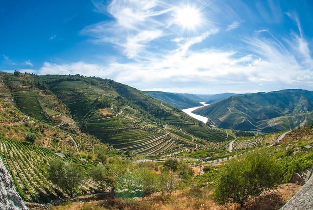 Vale do Douro (Valle del Duero) en el norte de Portugal