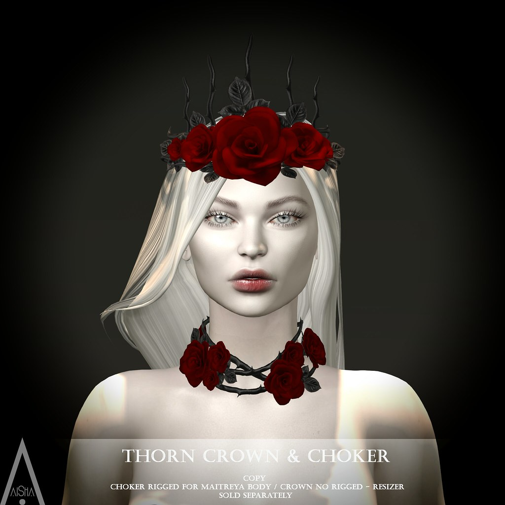 Thorn Choker & Crown Red @TDSF