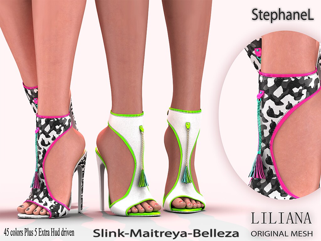 [StephaneL] LILIANA SHOES FATPACK
