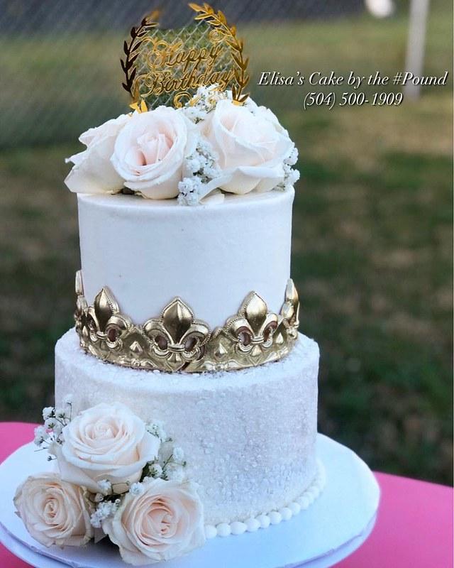 Cake by Elisa's Cake by the #Pound LLC