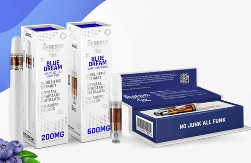 Funky Farms CBD Vape Cartridges