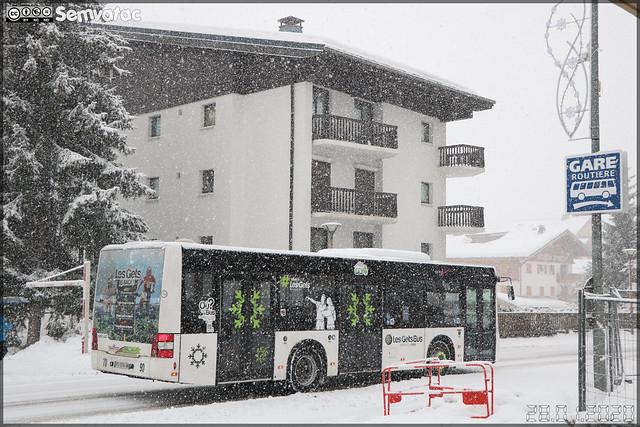 Man Lion's City M – Gavot Tourisme / Les Gets Bus n°198