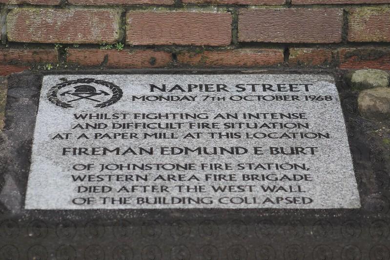 Edmund E Burt 51st Anniversary Memorial Service Napier Street Linwood