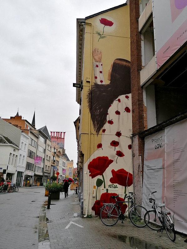 Arte urbano en Mechelen III
