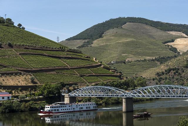 Vale do Douro en el norte de Portugal