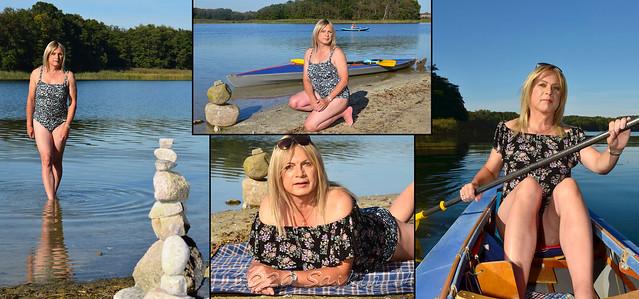 Badeausflug per Boot / bathing trip by boat