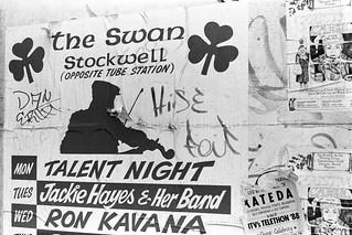 Posters, Kilburn High Rd, Kilburn, Brent,  Camden,1988 88-5m-53-positive_2400
