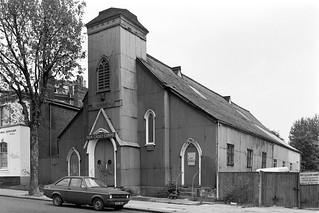 TS Bicester, Sea Cadets, Tin Tabernacle, Cambridge Ave, Kilburn, Brent, 1988 88-5m-44-positive_2400