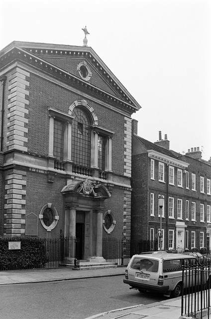 Church of Our Most Holy Redeemer and St Thomas More, Cheyne Row, Chelsea, Kensington & Chelsea, 1988  88-5i-61-positive_2400