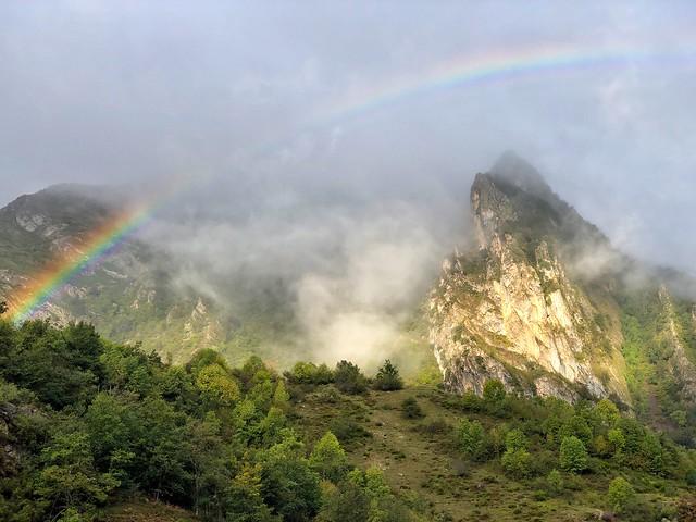 Arcoíris en Somiedo (Asturias)
