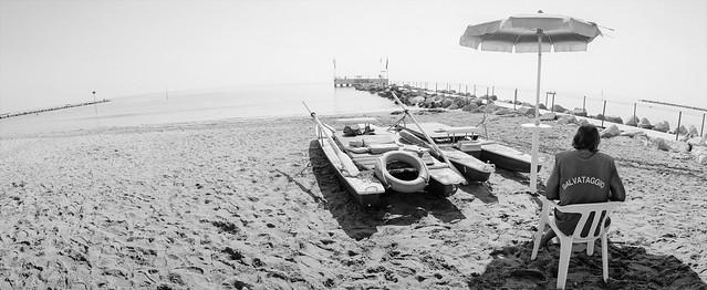 Saisonende am Lido, Venedig 1999