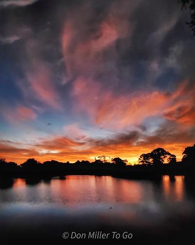 panorama cloudsonfire sunrise cloudporn skypainter orange blue