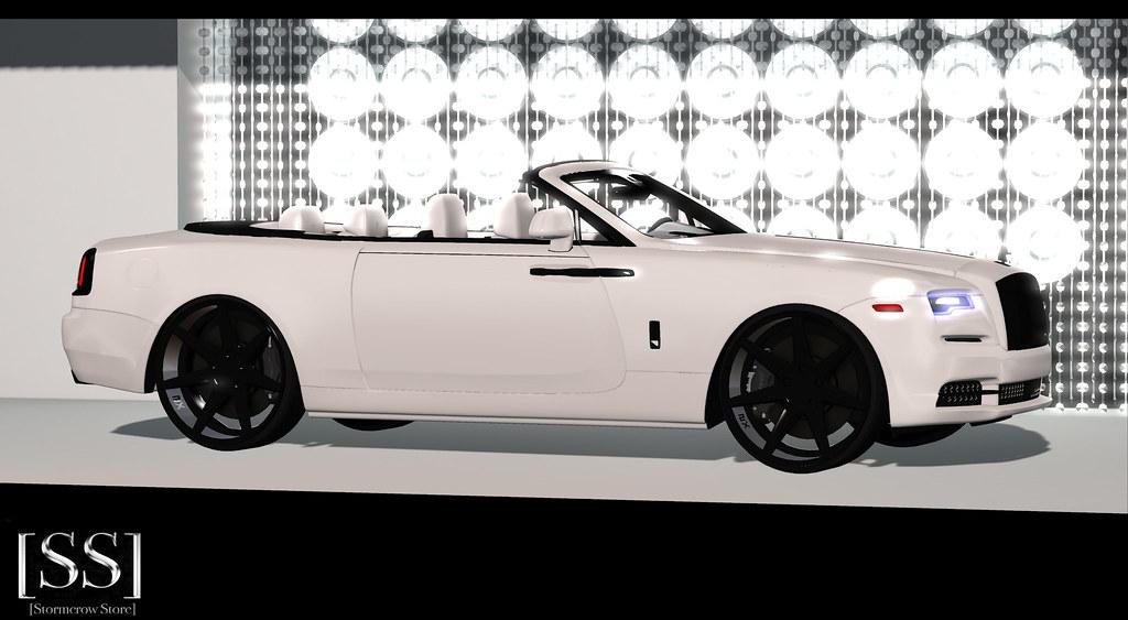 [Stormcrow Store] 2020 RRD White Diamond / Black Platinium
