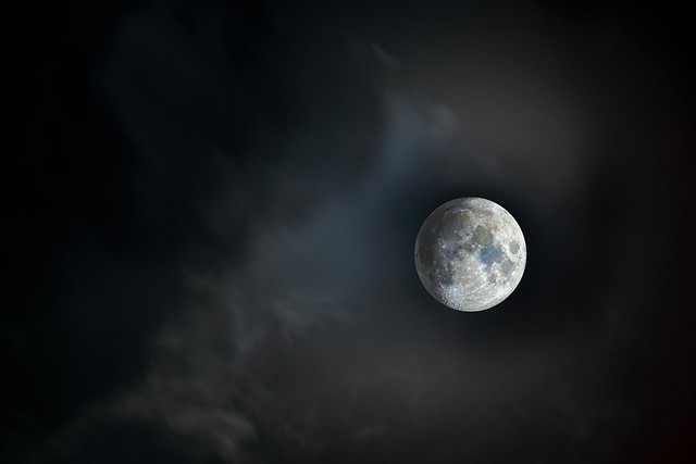 HDR Moon