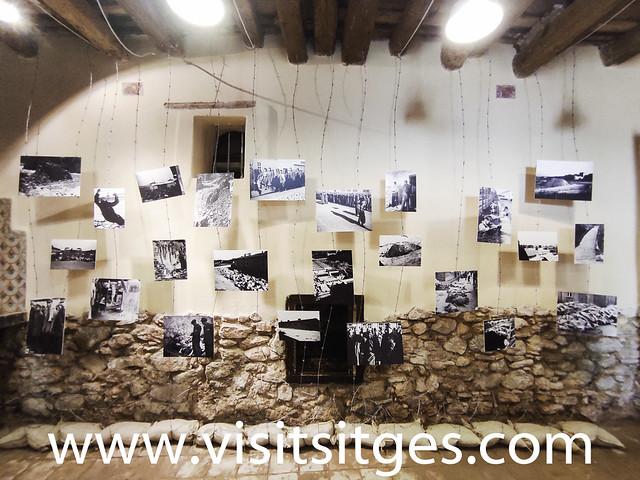 GALERÍA DE FOTOS EXPOSICIÓN SITGETANS ALS CAMPS NAZIS SITGES 2020