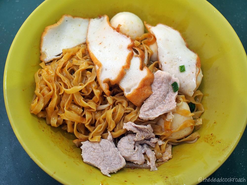singapore,food,review,food review,leng huat fish ball noodle,taman jurong market & food centre,mee pok,fish ball,fish ball mee pok,fish ball noodle,