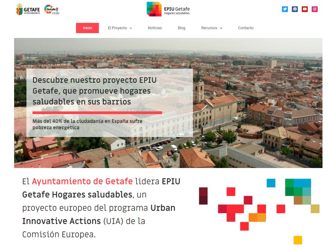 El Proyecto EPIU Getafe estrena página web