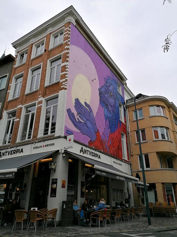 Arte urbano en Mechelen II