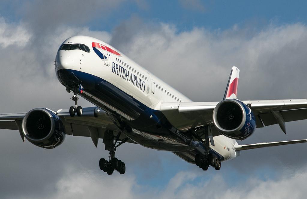 Airbus A350 - British Airways - G-XWBD