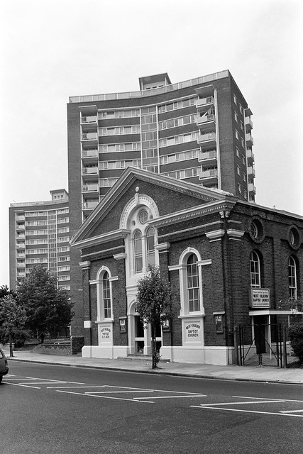 West Kilburn Baptist Church, Carlton Vale, West Kilburn, Brent, 1988 88-5l-33-positive_2400