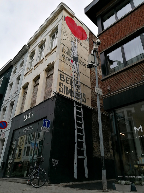 Arte urbano en Mechelen I