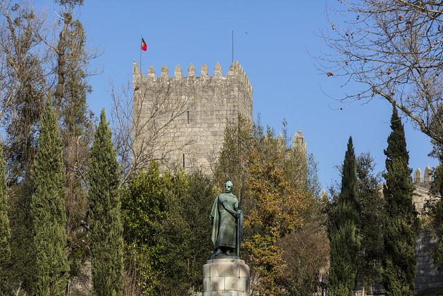Castillo de Guimaraes (Norte de Portugal)