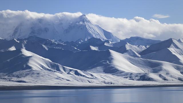 Mt Nyenchen Tanglha and Lake Namtso, Tibet 2019