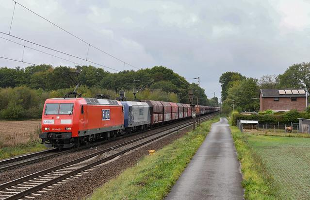 145 009-7 + 145 003-0 - rbh - bösinghoven - 26920