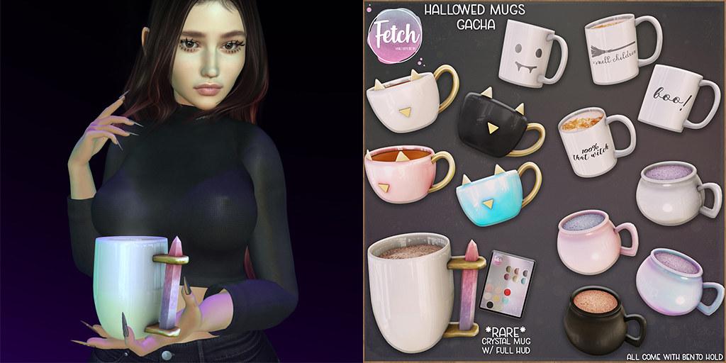 [Fetch] Hallowed Mugs @ The Arcade Pop up!