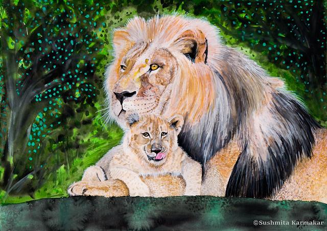 African Lion- Photo credit: Emmanuel Keller