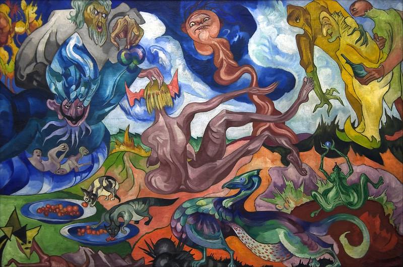 Stanisław Ignacy Witkiewicz - Creating the World, 1921-22