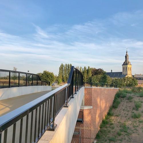 De nieuwe parkwegbrug in Heverlee