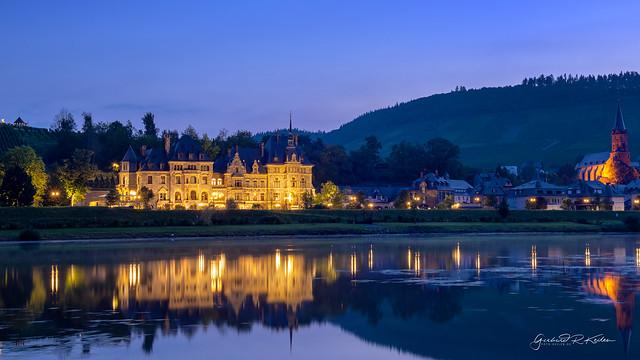 Chateau Lieser at the blue hour!